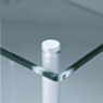 Clear Glass QAVM Shelf
